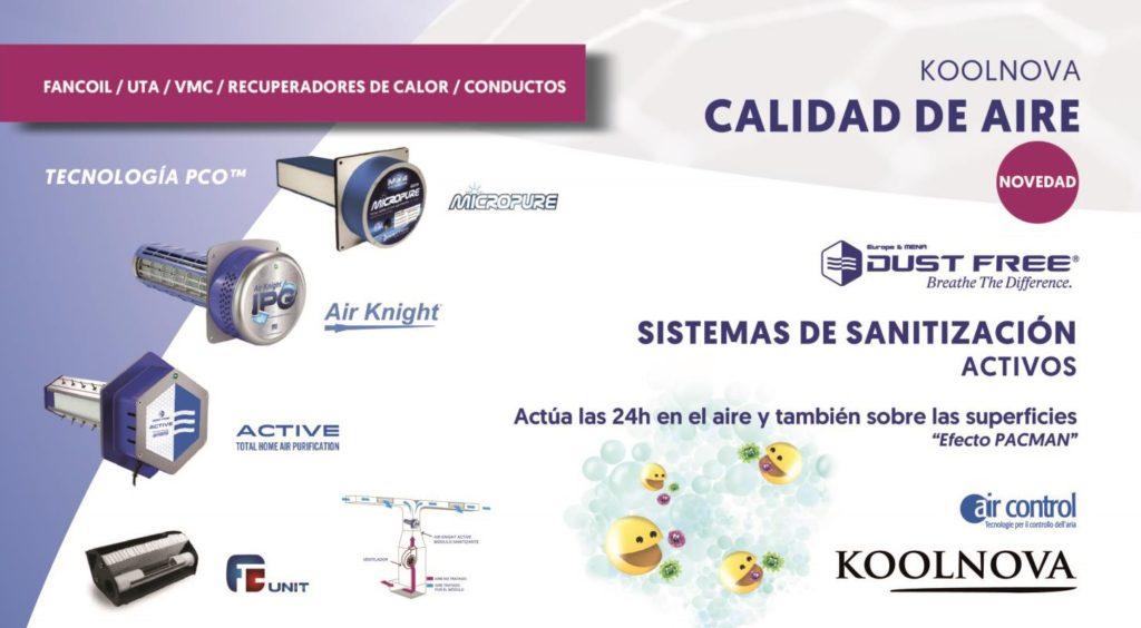 Modulo sanitización activa FCUNIT03