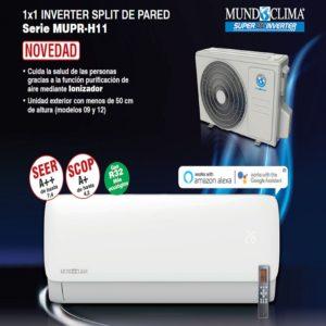 Aire acondicionado Mundoclima MUPR-24-H11
